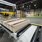 Монтаж упаковочного оборудования для компании Egger
