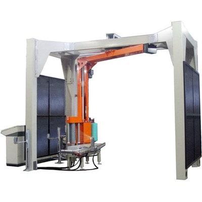 Автоматический паллетообмотчик в стрейч пленку OMS AV750