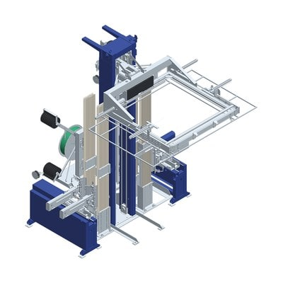 Горизонтальная упаковочная машина обвязки лентой OMS 06GS