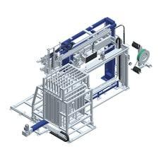 Вертикальная упаковочная машина обвязки лентой OMS 08 L