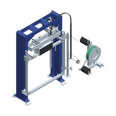Вертикальная упаковочная машина обвязки лентой OMS 08RP Stand Alone