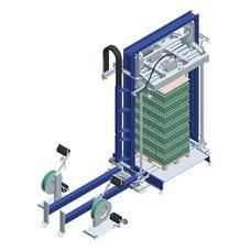 Вертикальная упаковочная машина обвязки лентой Press Master GLS с прессом
