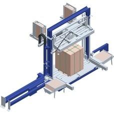 Вертикальная упаковочная машина обвязки лентой Press Master PLUS с прессом