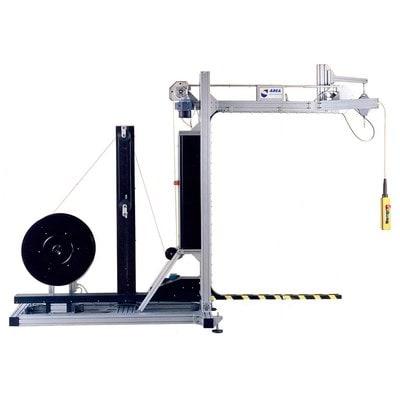 Полуавтоматическая вертикальная обвязочная машина TRIOPLAST