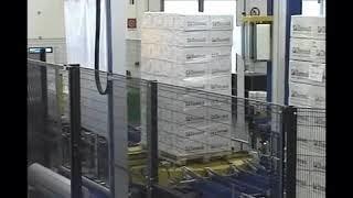 Паллетоупаковщик автомат AV 300 с функцией укрытия верха