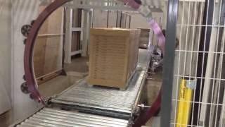 Упаковка ламината для IKEA на оборудовании AREA RING180