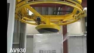 Обмотка в стретч пленку на скоростном OMS AV930