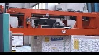 Упаковка бумаги на машине вертикальной обвязки РЕТ лентой