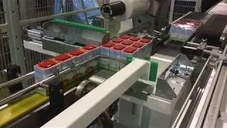 Упаковка овощей в стрейч пленку на RING60